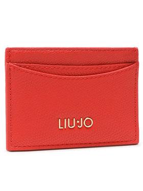 Liu Jo Liu Jo Калъф за кредитни карти Ecs Credit Card AA1208 E0017 Червен