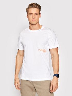 Calvin Klein Jeans Calvin Klein Jeans T-shirt J30J317507 Bijela Regular Fit