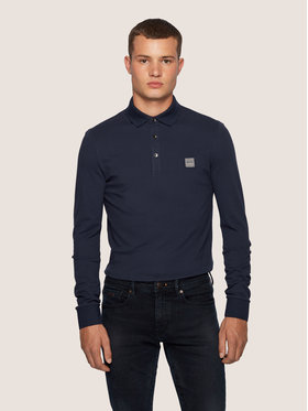 Boss Boss Polo Passerby 50387465 Blu scuro Slim Fit
