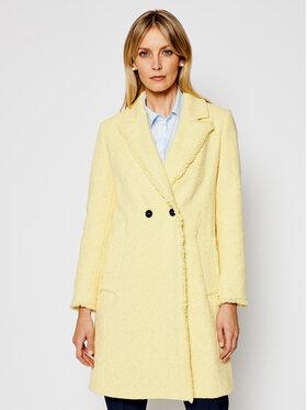 Marella Marella Prechodný kabát Nicchia 30110311 Žltá Regular Fit