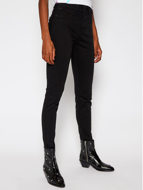 Guess Guess jeansy Skinny Fit Shape W0BA34 WAMB4 Nero Skinny Fit
