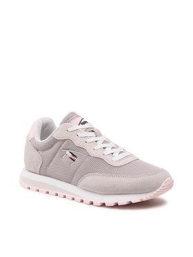 Tommy Jeans Tommy Jeans Sneakersy Casual Runner EN0EN01419PS3 Szary
