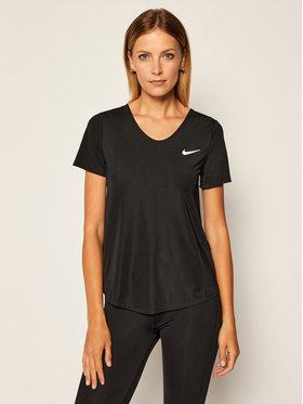 Nike Nike Koszulka techniczna Breathe CJ2568 Czarny Standard Fit