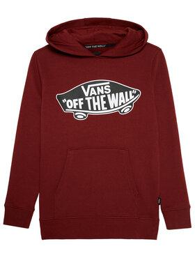 Vans Vans Sweatshirt Otw Pullover Fleece VN000SR9 Dunkelrot Regular Fit