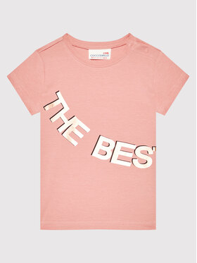 Coccodrillo Coccodrillo T-Shirt ZC1143227EVG Růžová Regular Fit
