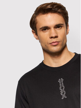 Hugo Hugo T-shirt Durned213 50456797 Noir Regular Fit