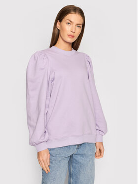 United Colors Of Benetton United Colors Of Benetton Bluza 3QMHD100V Fioletowy Regular Fit