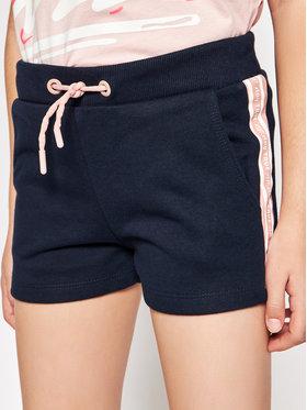 4F 4F Pantaloncini di tessuto HJL21-JSKDD002 Blu scuro Regular Fit