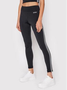 Guess Guess Leggings Ethel O1RA38 MC049 Fekete Slim Fit