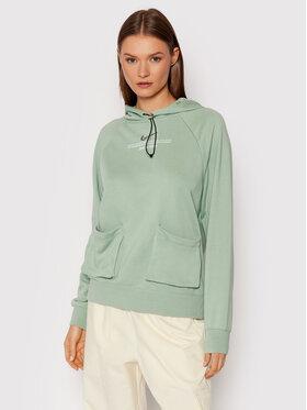 Nike Nike Bluza Sportswear Swoosh CZ8896 Zielony Oversize