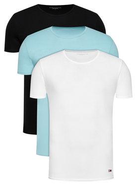 Tommy Hilfiger Tommy Hilfiger Set 3 tricouri Essential 2S87905187 Colorat Regular Fit
