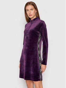 DKNY DKNY Sukienka codzienna DD1GF47A Fioletowy Regular Fit