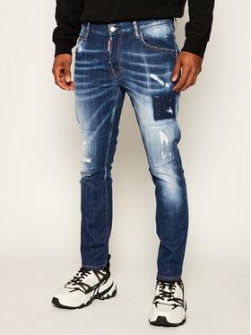 Dsquared2 Dsquared2 Blugi Slim Fit Skater S71LB0728 Bleumarin Slim Fit