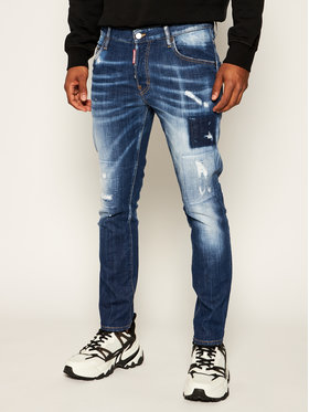 Dsquared2 Dsquared2 Jeans Regular Fit Skater S71LB0728 Bleu marine Regular Fit