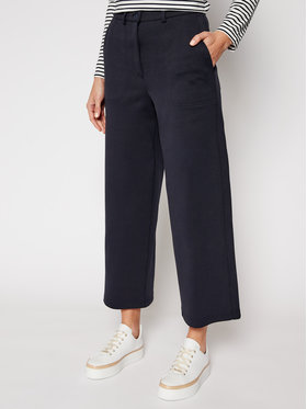 Weekend Max Mara Weekend Max Mara Pantaloni culotte Anversa 57810117 Bleumarin Regular Fit