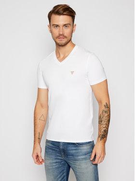 Guess Guess T-Shirt M0BI32 J1311 Biały Super Slim Fit