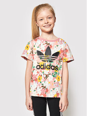 adidas adidas T-Shirt Tee GN4209 Kolorowy Regular Fit