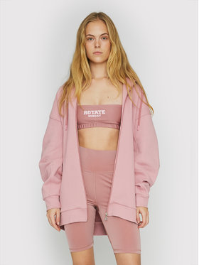 ROTATE ROTATE Sweatshirt Selma RT463 Rosa Loose Fit