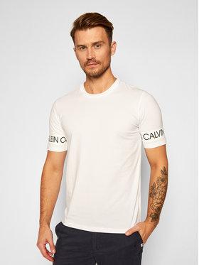 Calvin Klein Performance Calvin Klein Performance T-Shirt 00GMF0K186 Biały Regular Fit