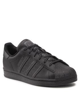adidas adidas Обувки Superstar H00200 Черен