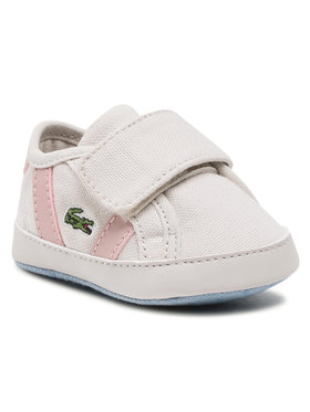 Lacoste Lacoste Pantofi Sideline Crib 0120 1 Cub 7-40CUB0001UH1 Bej