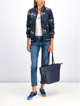 Pepe Jeans Pepe Jeans Bomber striukė PL401682 Tamsiai mėlyna Regular Fit