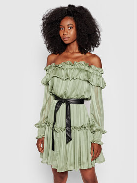 Guess Guess Robe de cocktail Alessia W1YK0O WE0R0 Vert Regular Fit