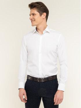 Boss Boss Marškiniai Joram 50427552 Balta Slim Fit