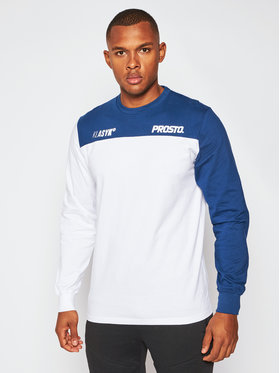 PROSTO. PROSTO. Marškinėliai ilgomis rankovėmis KLASYK Armcol 9166 Balta Regular Fit
