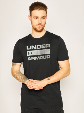 Under Armour Under Armour Tricou Ua Team Issue Wordmark 1329582 Negru Loose Fit