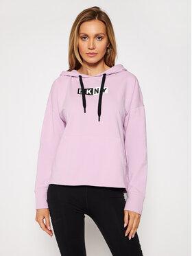 DKNY Sport DKNY Sport Sweatshirt DP0T7713 Violet Loose Fit