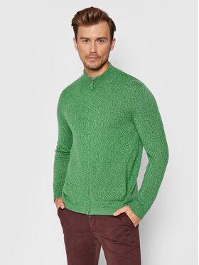 United Colors Of Benetton United Colors Of Benetton Cardigan 1235U5602 Verde Regular Fit