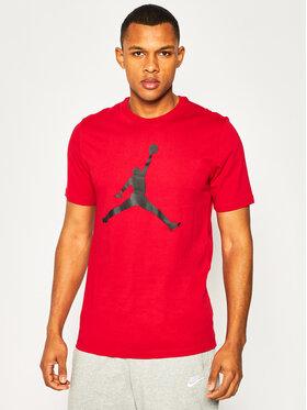 Nike Nike Marškinėliai Jordan Jumpman CJ0921 Raudona Standard Fit