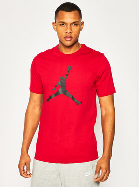 Nike Nike T-Shirt Jordan Jumpman CJ0921 Červená Standard Fit