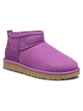 Ugg Ugg Pantofi W Classic Ultra Mini 1116109 Violet