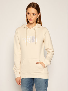 The North Face The North Face Sweatshirt Drew Peak NF00A8MUTJA1 Beige Regular Fit