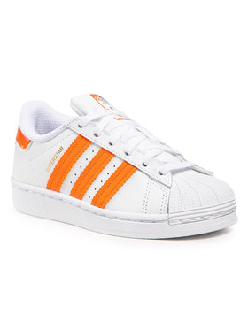 adidas adidas Обувки Superstar C FZ0650 Бял