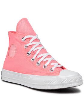 Converse Converse Sneakers aus Stoff Chuck 70 Hi Electr 167677C Rosa