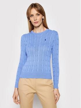 Polo Ralph Lauren Polo Ralph Lauren Megztinis Lsl 211580009091 Mėlyna Regular Fit