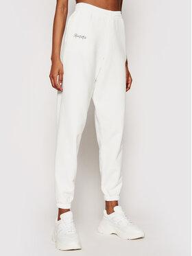 Kontatto Kontatto Pantaloni da tuta SDK200 Bianco Regular Fit