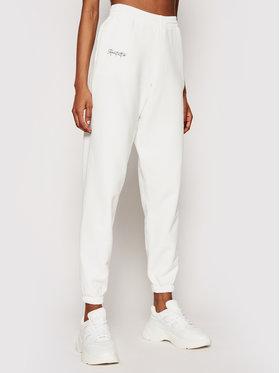 Kontatto Kontatto Spodnie dresowe SDK200 Biały Regular Fit