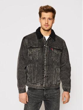 Levi's® Levi's® Jeansová bunda Type 3 16365-0129 Černá Regular Fit