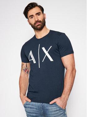Armani Exchange Armani Exchange Marškinėliai 3KZTAG ZJ4KZ 1510 Tamsiai mėlyna Slim Fit