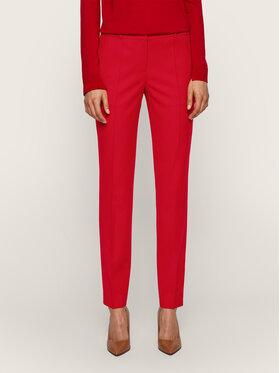 Boss Boss Текстилни панталони Tiluni2 50439239 Червен Regular Fit