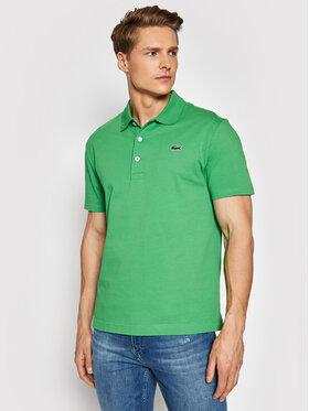 Lacoste Lacoste Polo marškinėliai YH4801 Žalia Slim Fit