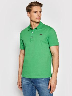 Lacoste Lacoste Tricou polo YH4801 Verde Slim Fit