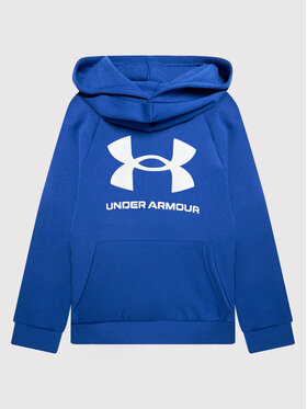 Under Armour Under Armour Sweatshirt Ua Rival Fleece Big Logo 1357585 Blau Loose Fit