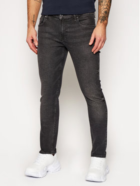 Guess Guess Jeansy Slim Fit Miami M0BAN1 D4721 Szary Skinny Fit