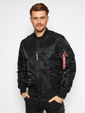 Alpha Industries Alpha Industries Geacă bomber Ma-1 Vf 59 Long 168100 Negru Slim Fit