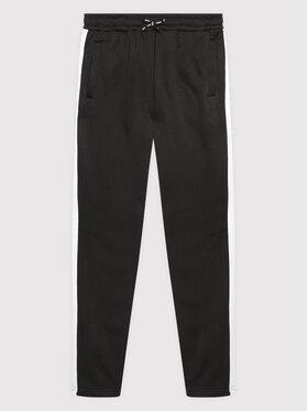 Joma Joma Teplákové kalhoty Stripe 500422.102 Černá Regular Fit